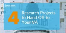 4 Types of Research a VA Can Help You Do